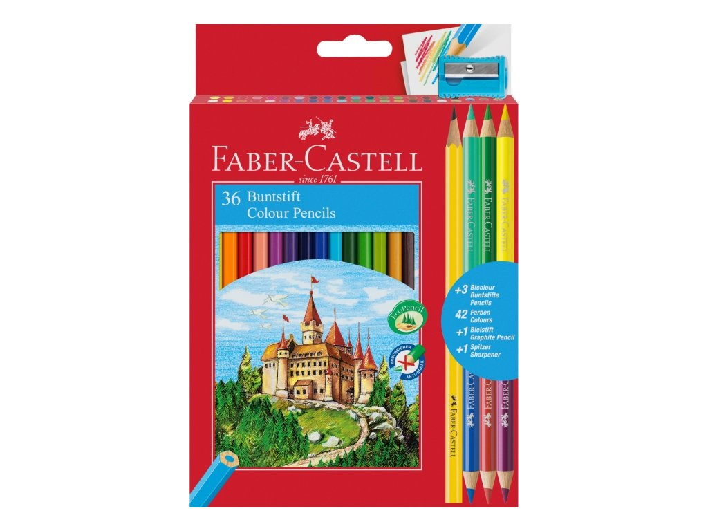 2309 1 pastelky faber castell eko 36 barev 3 bicolor orezavatko