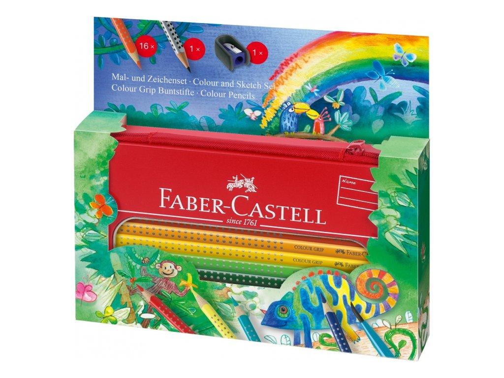 2423 5 pastelky faber castell grip darkove pouzdro 16 2