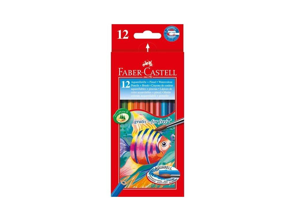 2504 2 pastelky akvarelove 12 barev faber castell