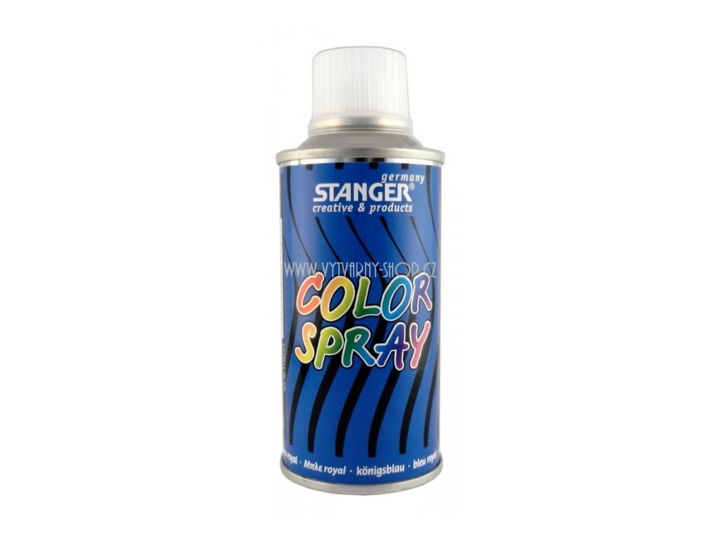 2576 akrylova barva ve spreji stanger color spray 150 ml modry