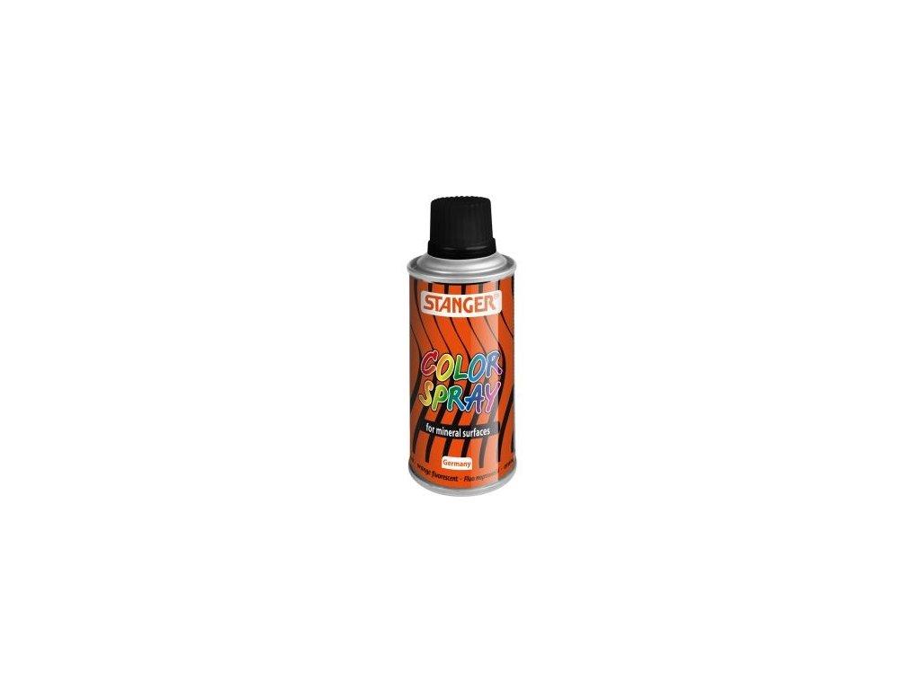 2594 akrylova barva ve spreji stanger color spray 150 ml fluo oranzovy
