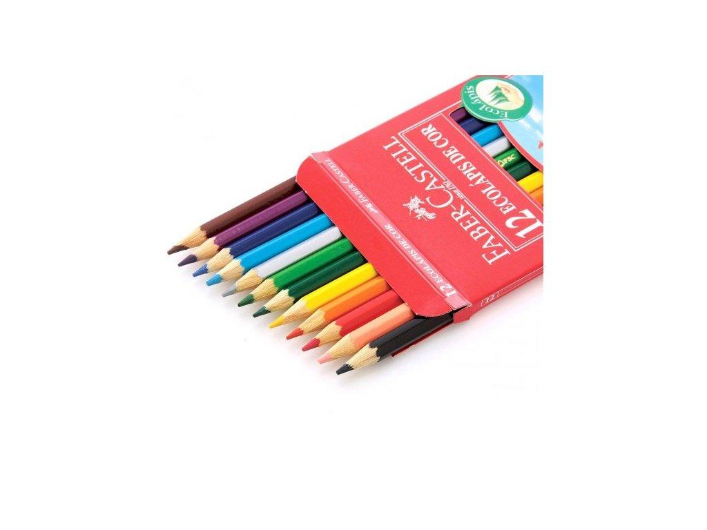 2837 1 pastelky faber castell eko 12 barev orezavatko
