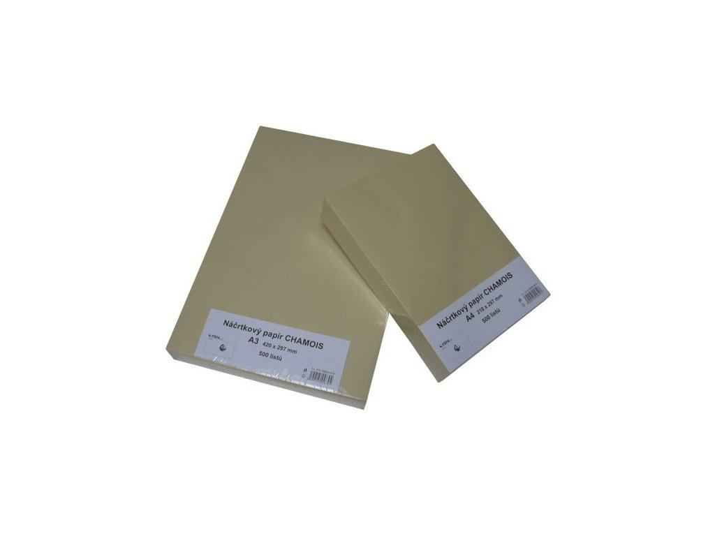 2918 nacrtkovy papir 90g a4 chamois