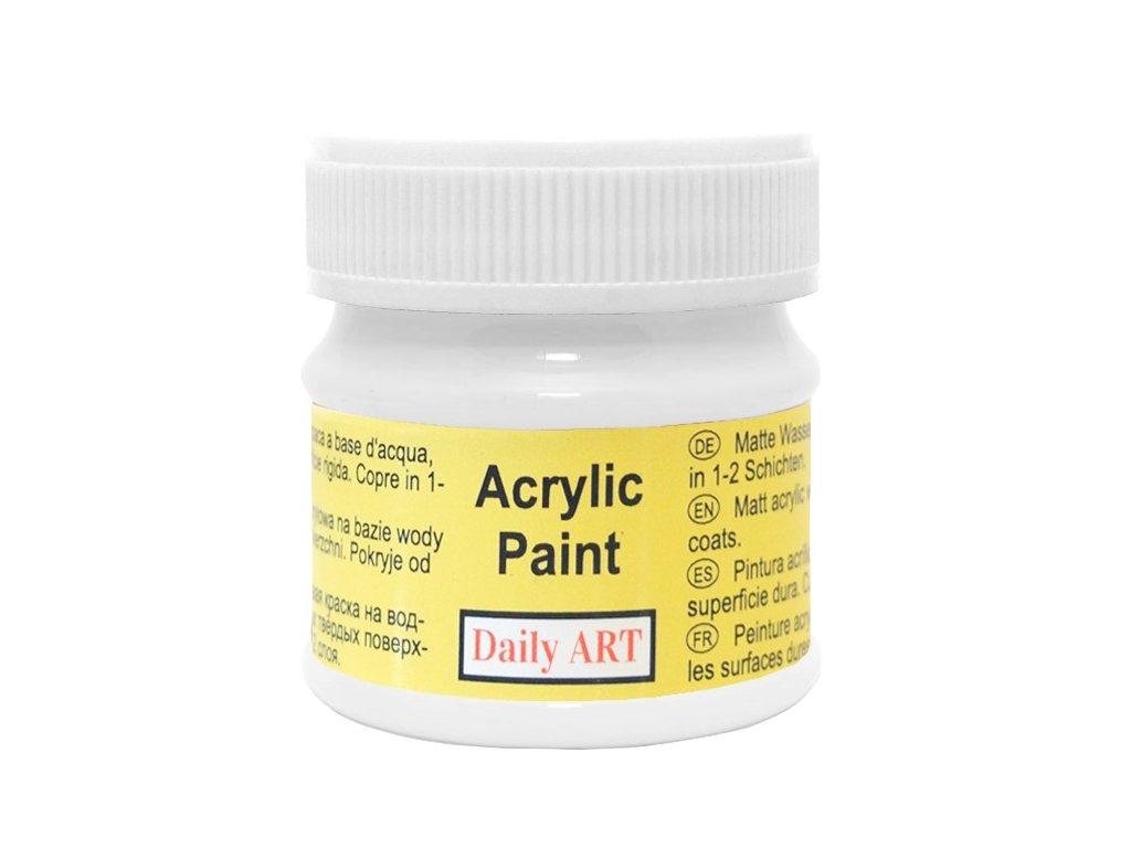akrylova matna DA white 110 50ml