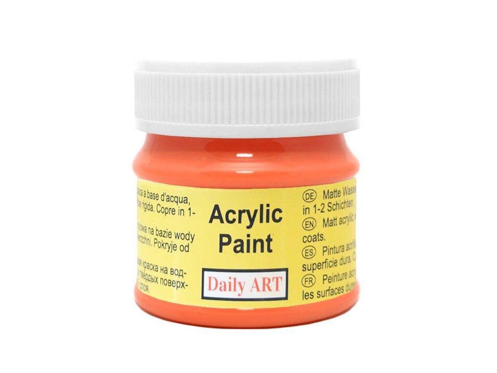 2951 matna akrylova barva 50ml oranzova