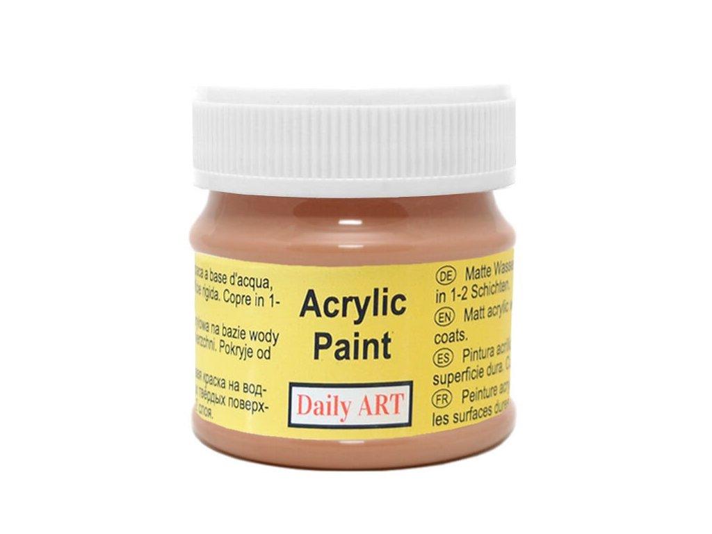 2960 matna akrylova barva 50ml hneda