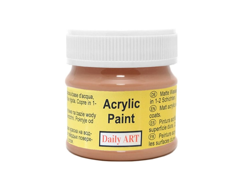 akrylova matna DA brown 190 50ml