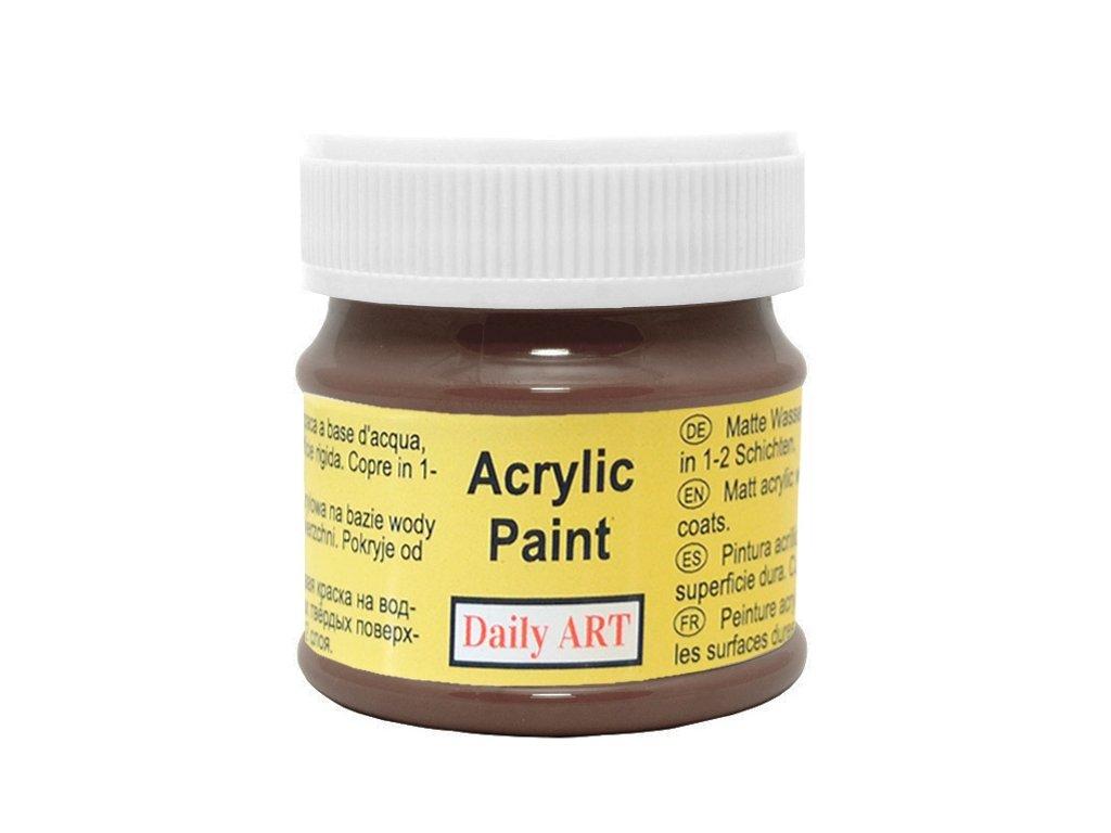 akrylova matna DA dark brown 198 50ml