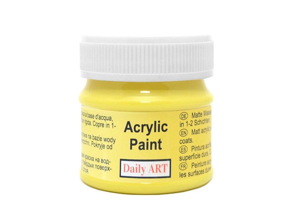 akrylova matna DA lemon 250 50ml