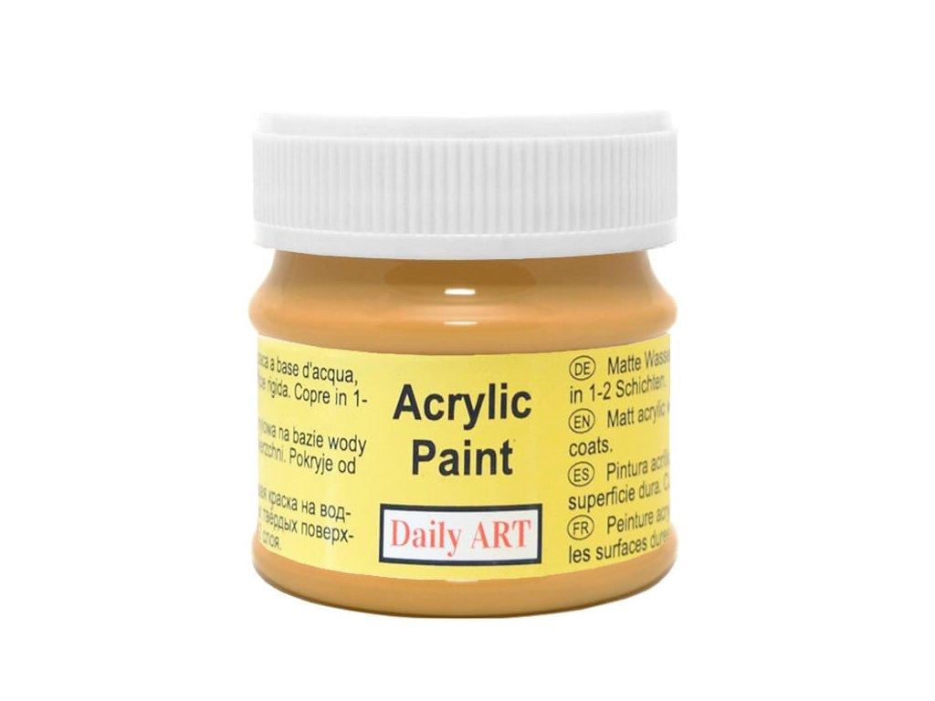 2987 matna akrylova barva 50ml okrova