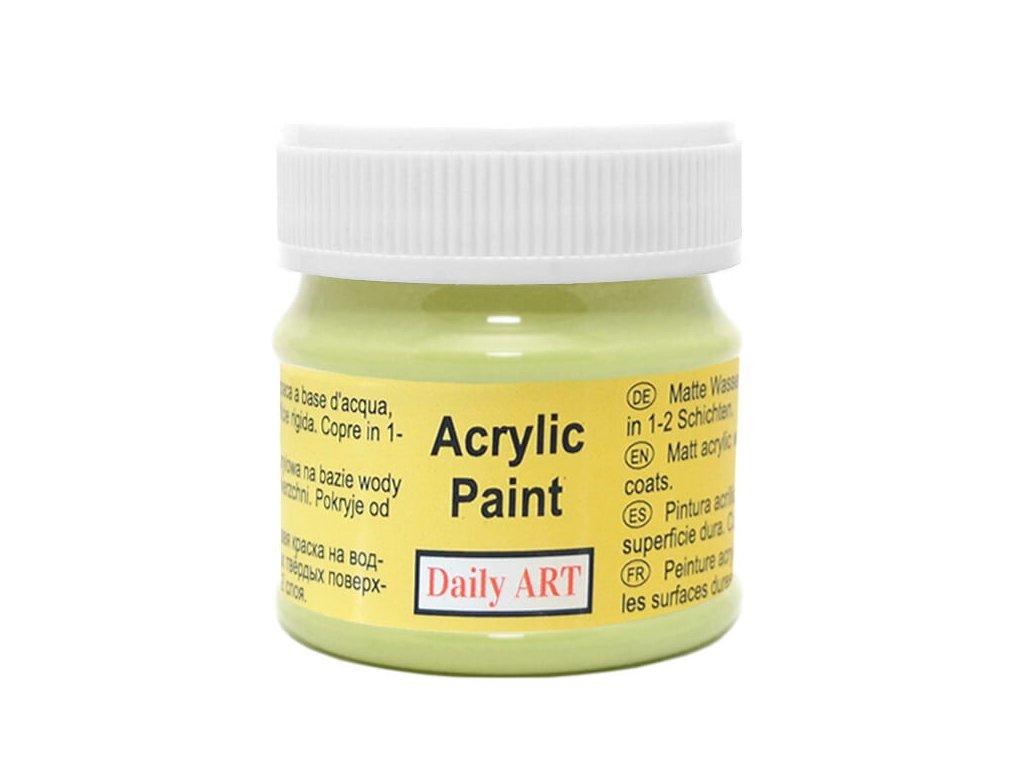 3002 matna akrylova barva 50ml zelena pistaciova