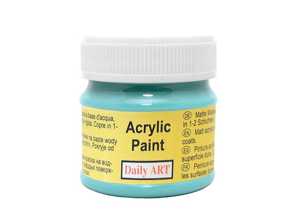 3011 matna akrylova barva 50ml tyrkysova