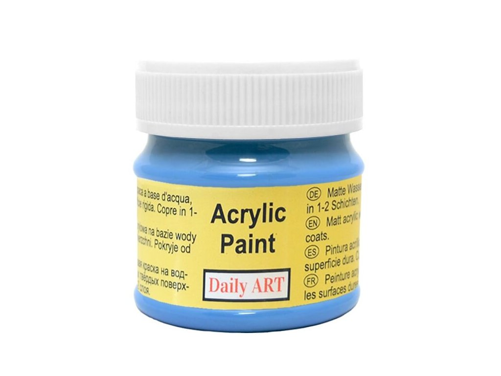 3014 matna akrylova barva 50ml modra