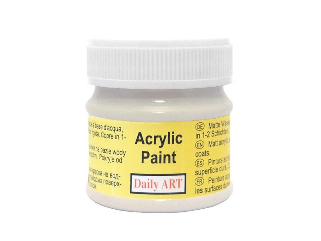 3041 matna akrylova barva 50ml seda tepla