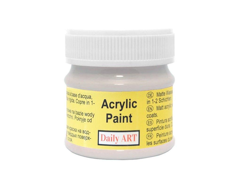 3044 matna akrylova barva 50ml seda francouzska