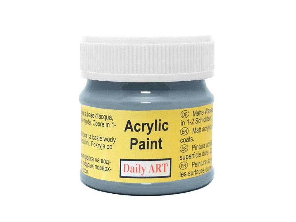 3053 matna akrylova barva 50ml seda bridlicova