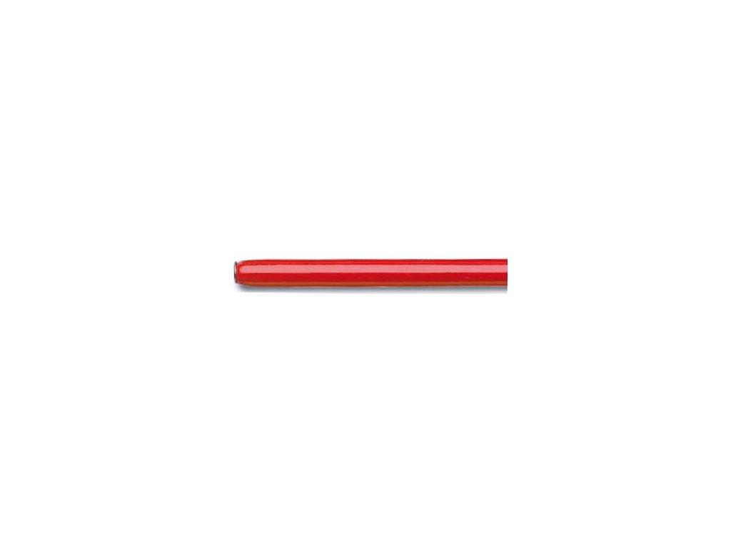 3134 1 nasadka na pera drevena cervene lakovana