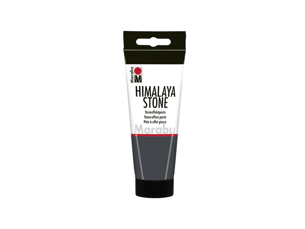 3296 akrylova barva imitujici kamen marabu himalaya stone graphite 179
