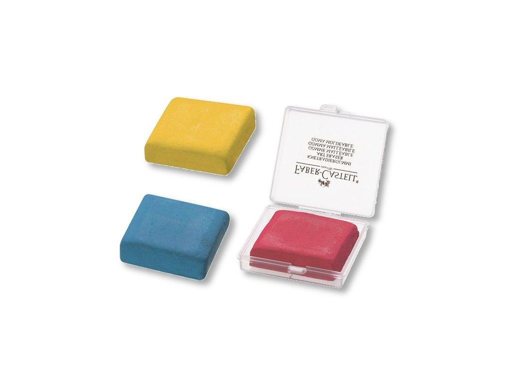 3329 1 pryz tvarliva umelecka barevna faber castell v pruhledne krabicce