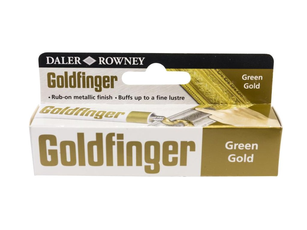 3686 zlatici pasta goldfinger 22 ml green gold