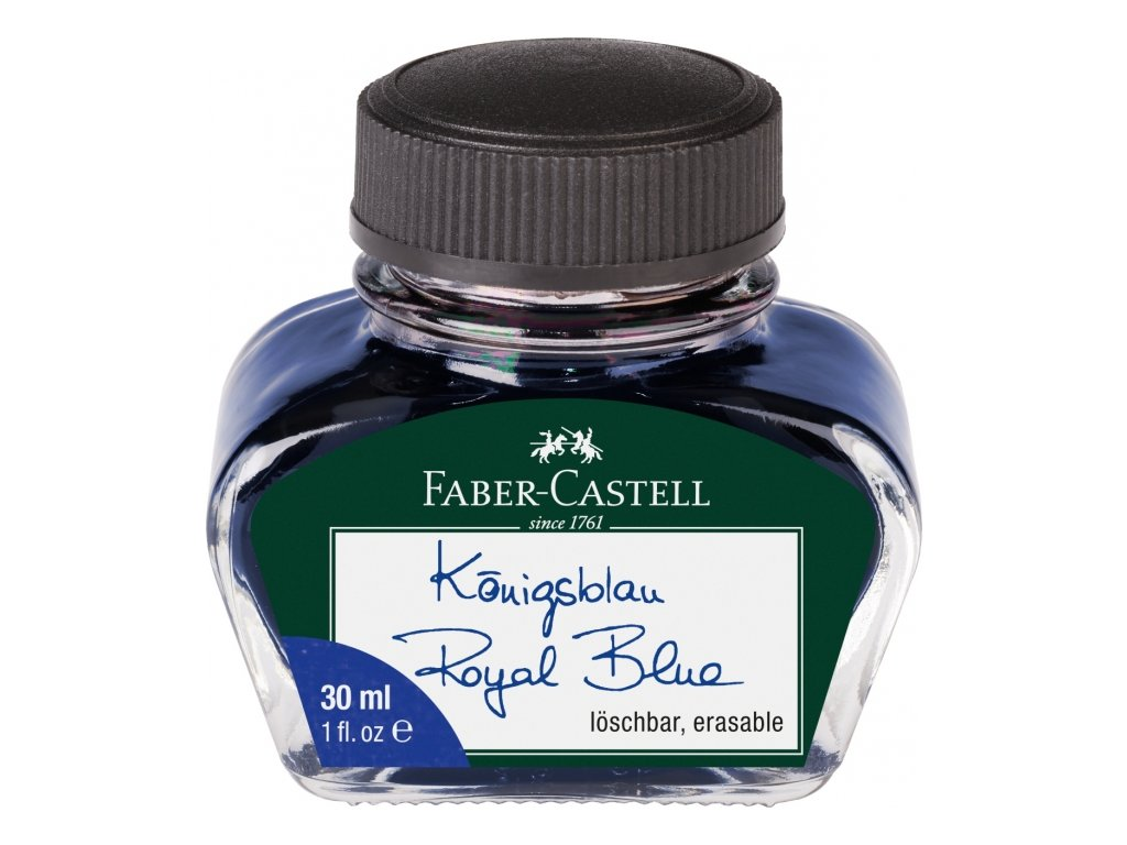 3734 1 inkoust modry 30ml faber castell