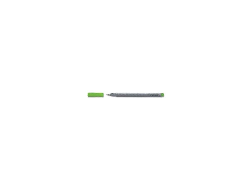 3971 1 popisovac faber castell finepen grip 0 4 mm zeleny svetle