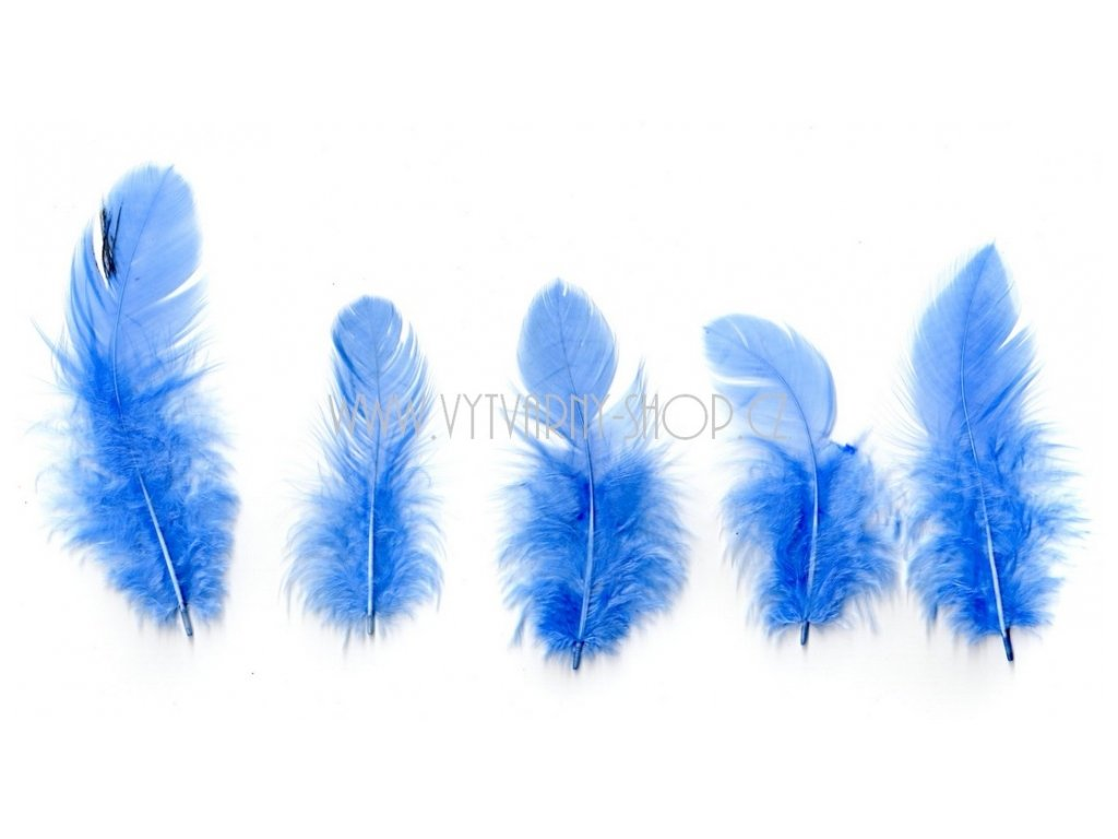 4091 pericka 6 10 cm 10 g modra svetle