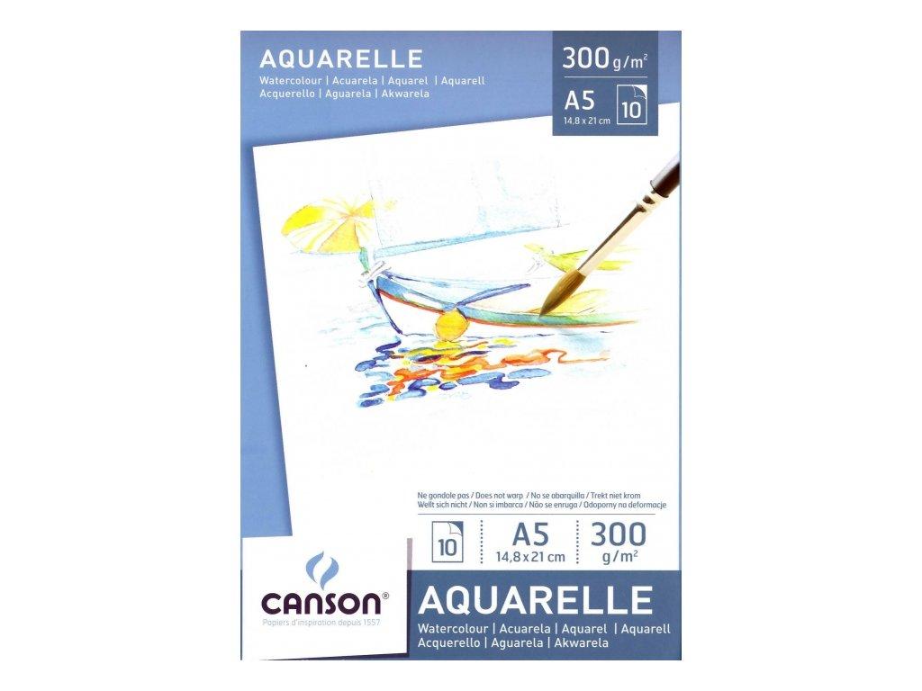 5357 akvarelovy blok canson aquarelle a5