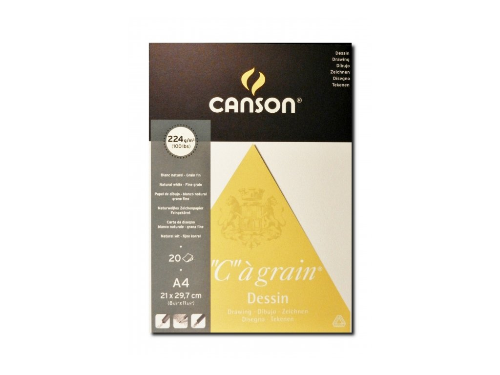 5432 canson cagrain blok lepeny a4 20 listu 224 g