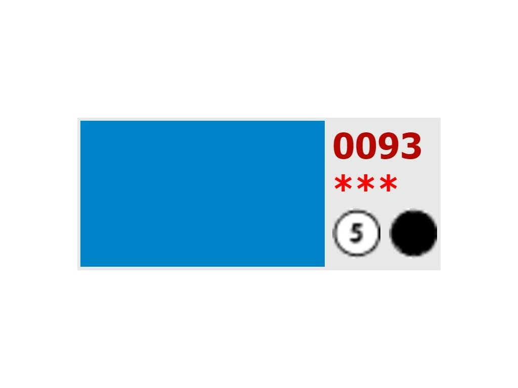 5654 olejova barva umton 20 ml 093 coelionova modr brilantni