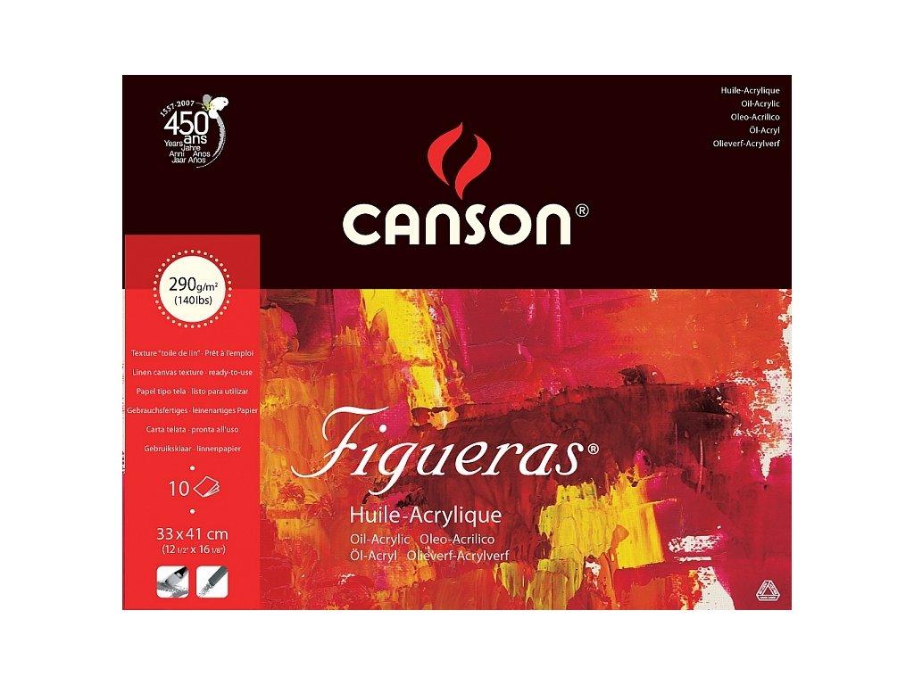5762 papir na olej canson figueras oil 24 x 33 cm