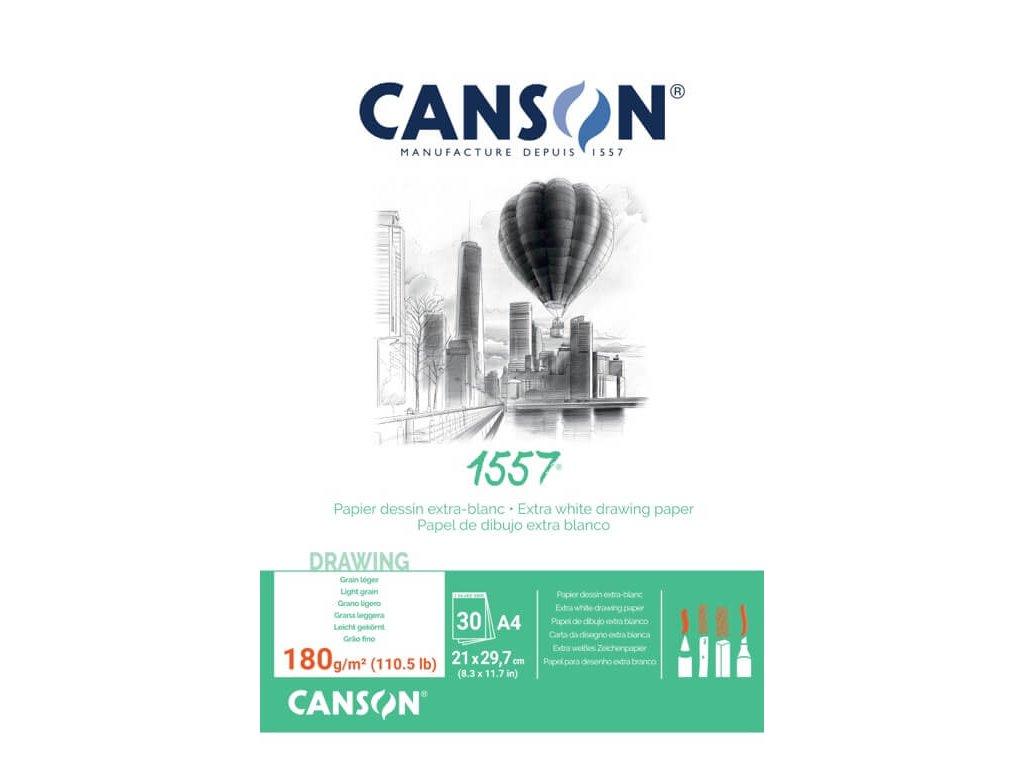 5861 canson 1557 blok lepeny 180g a4 30 listu