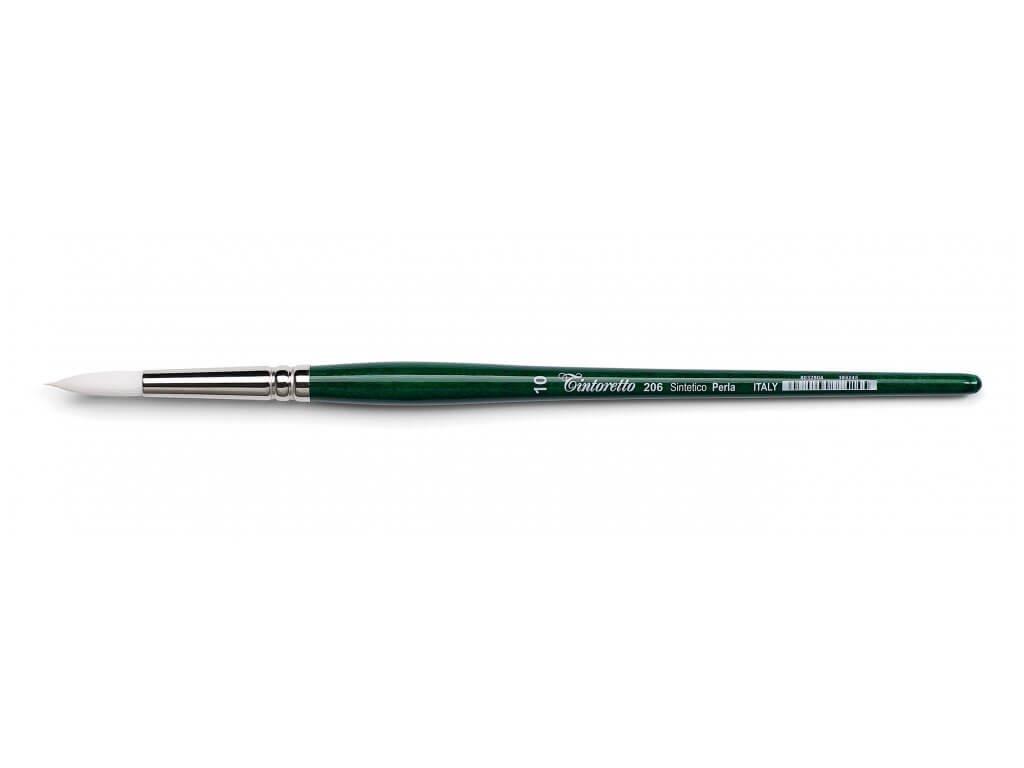 Štětec kulatý syntetický 206-3/0 Tintoretto Perla