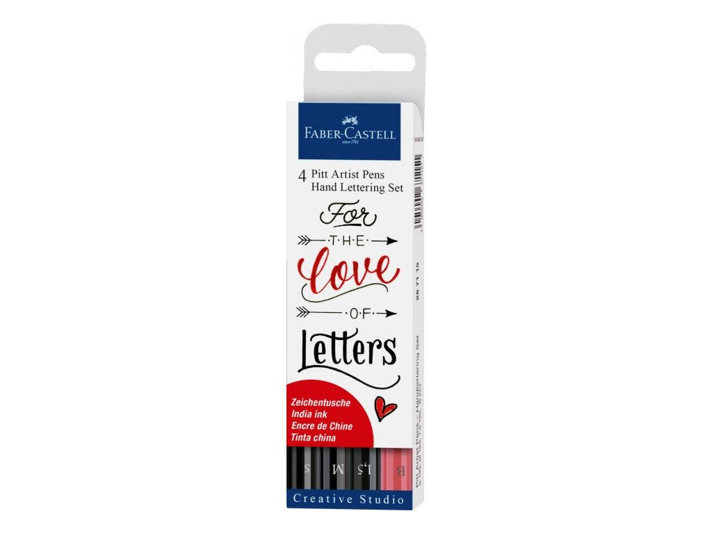 6599 1 pitt artist pens hand lettering set sada 4ks