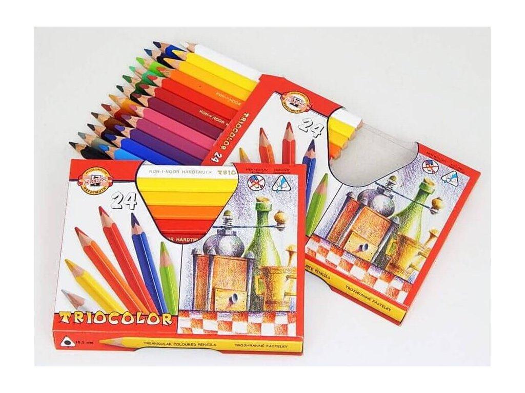 pastelky triocolor silne koh i noor 3154024001KS