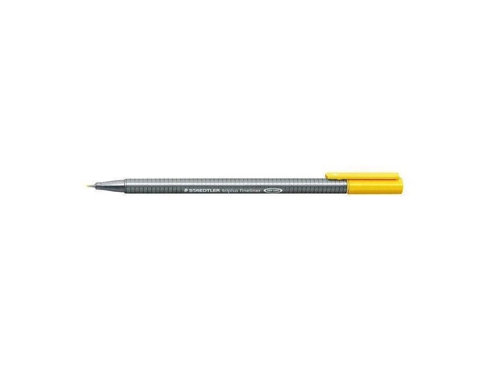 7286 2 staedtler triplus fineliner 334 0 3mm 1 zluta