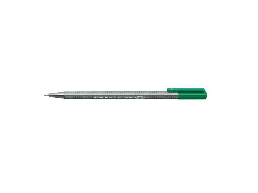 7367 2 staedtler triplus fineliner 334 0 3mm 5 zelena