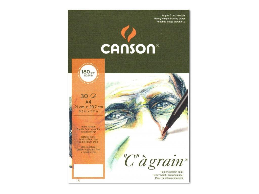 8774 graficky papir canson cagrain blok lepeny a5 180g 30 listu