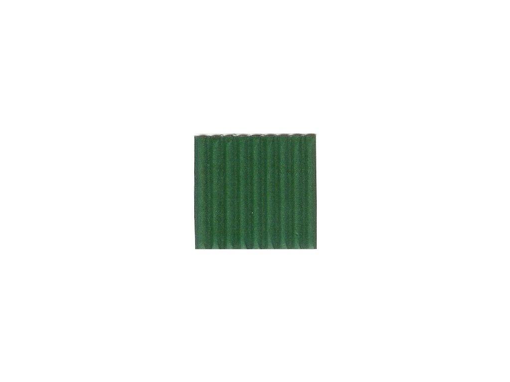 9248 vlnita lepenka 50x70 cm zelena tmave