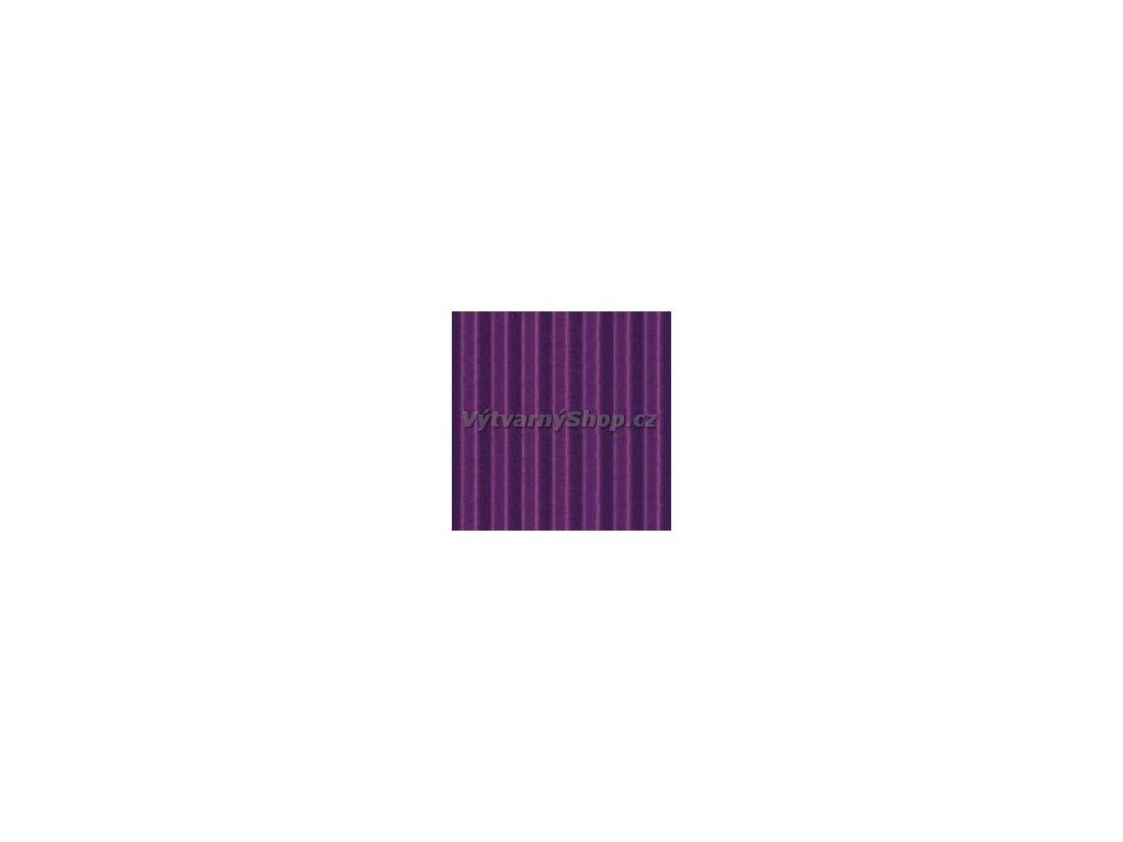 9263 vlnita lepenka 25x35 cm fialova