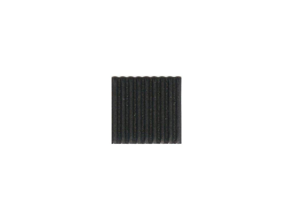9272 vlnita lepenka 50x70 cm cerna