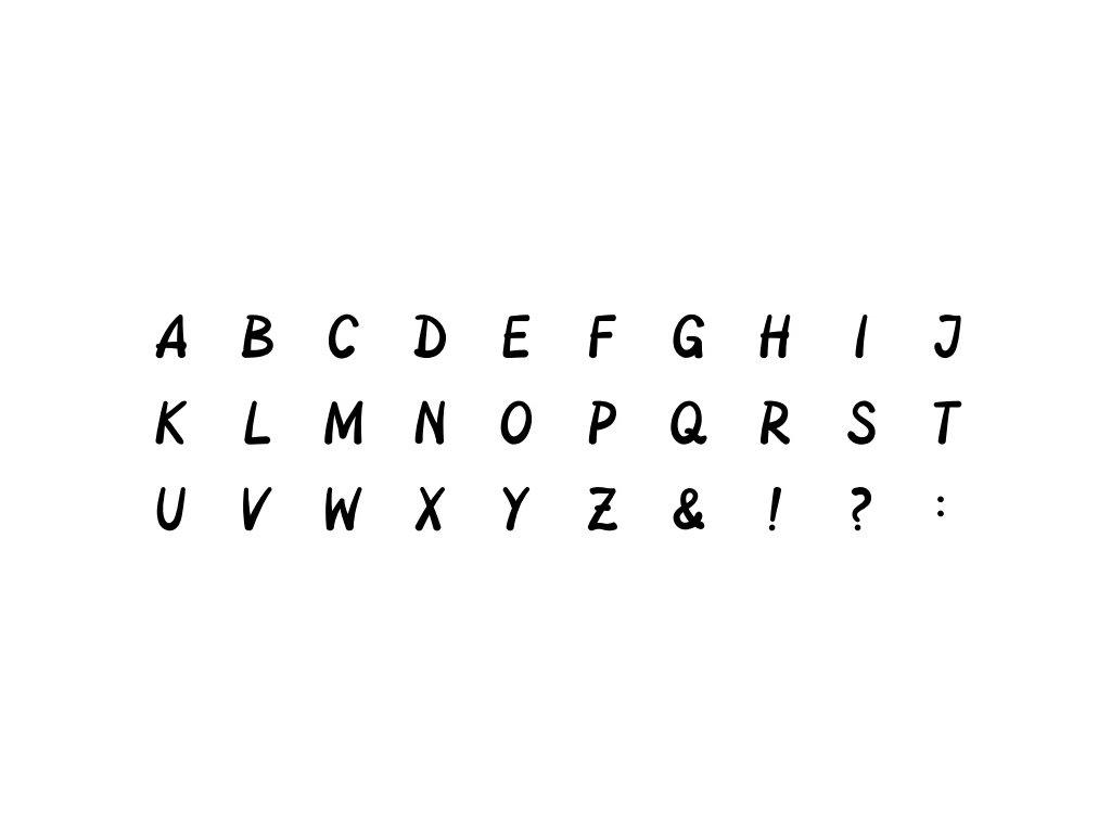 10001 sada 30 ks razitek heyda abeceda