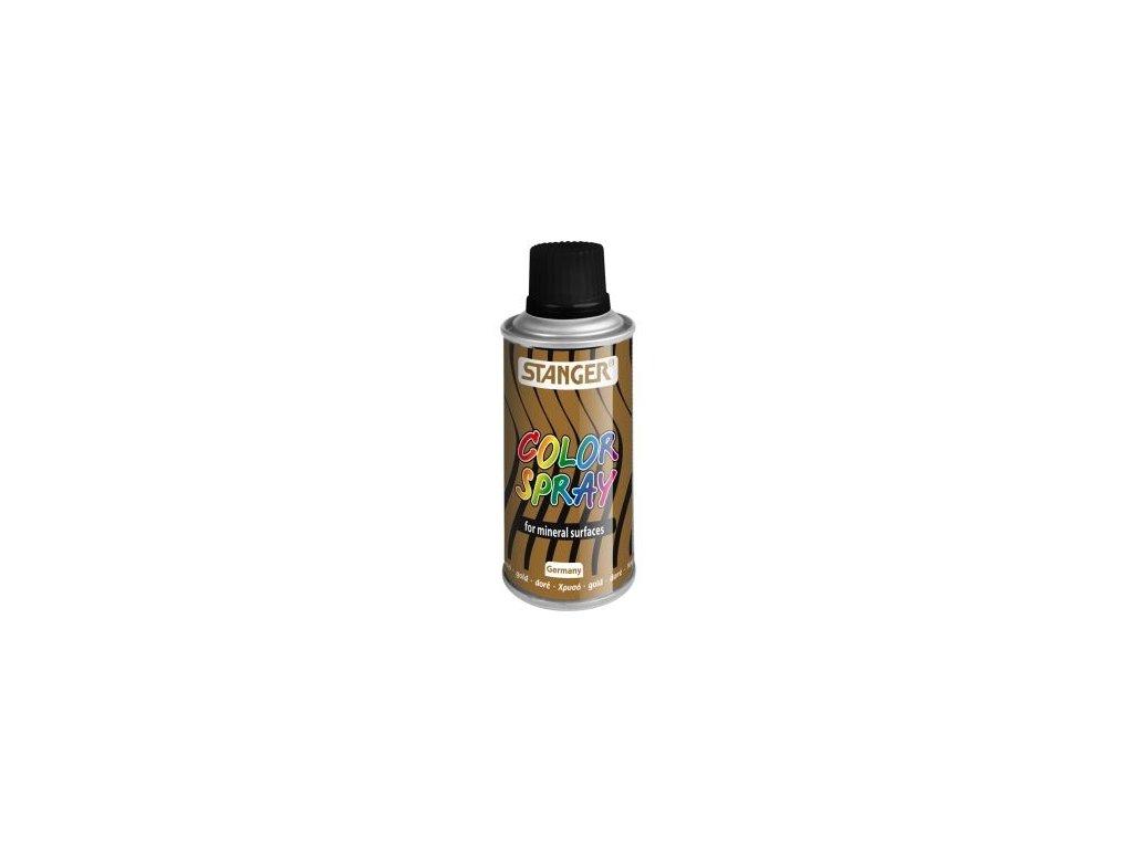 10100 akrylova barva ve spreji stanger color spray 150 ml zlaty