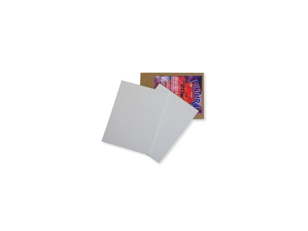 10154 deska s platnem pintura 25x30 cm