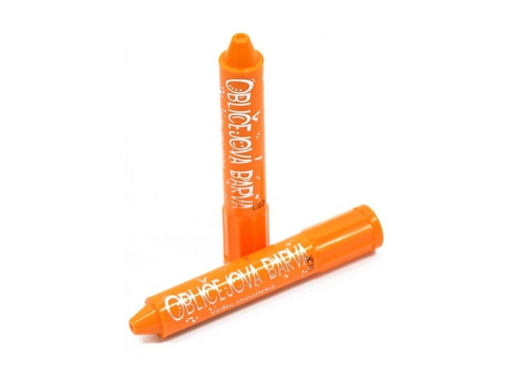 oblicejova barva oranzova
