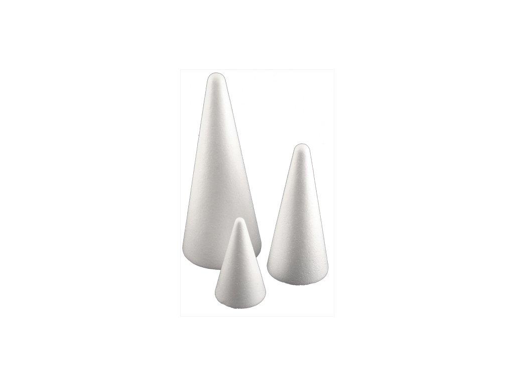 11132 kuzel polystyrenovy 20 cm