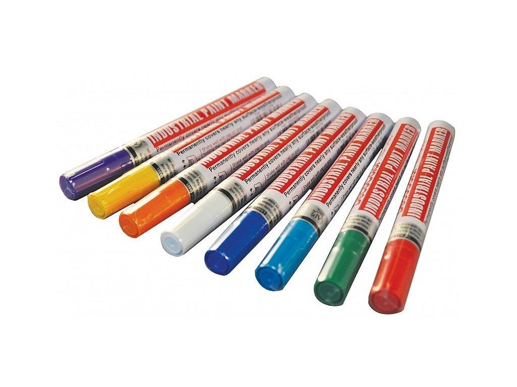 11141 2 lakovy popisovac deco color silny stribrny