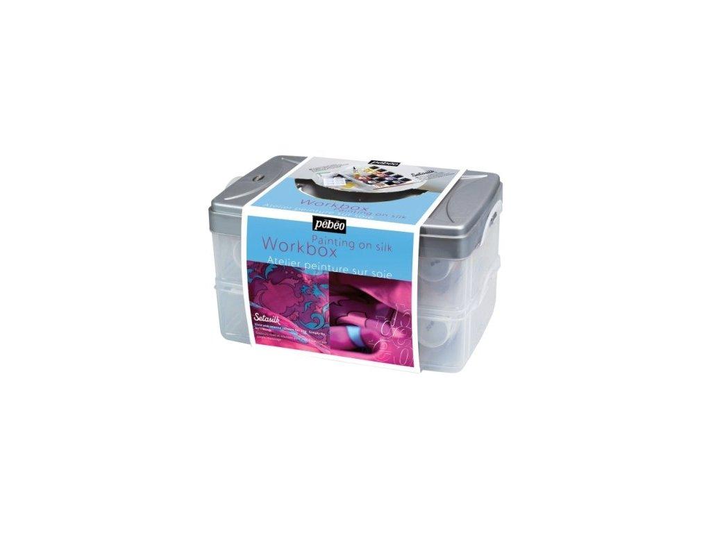 11249 barvy na hedvabi pebeo setasilk kufrik 10x45 ml pebeo gutta