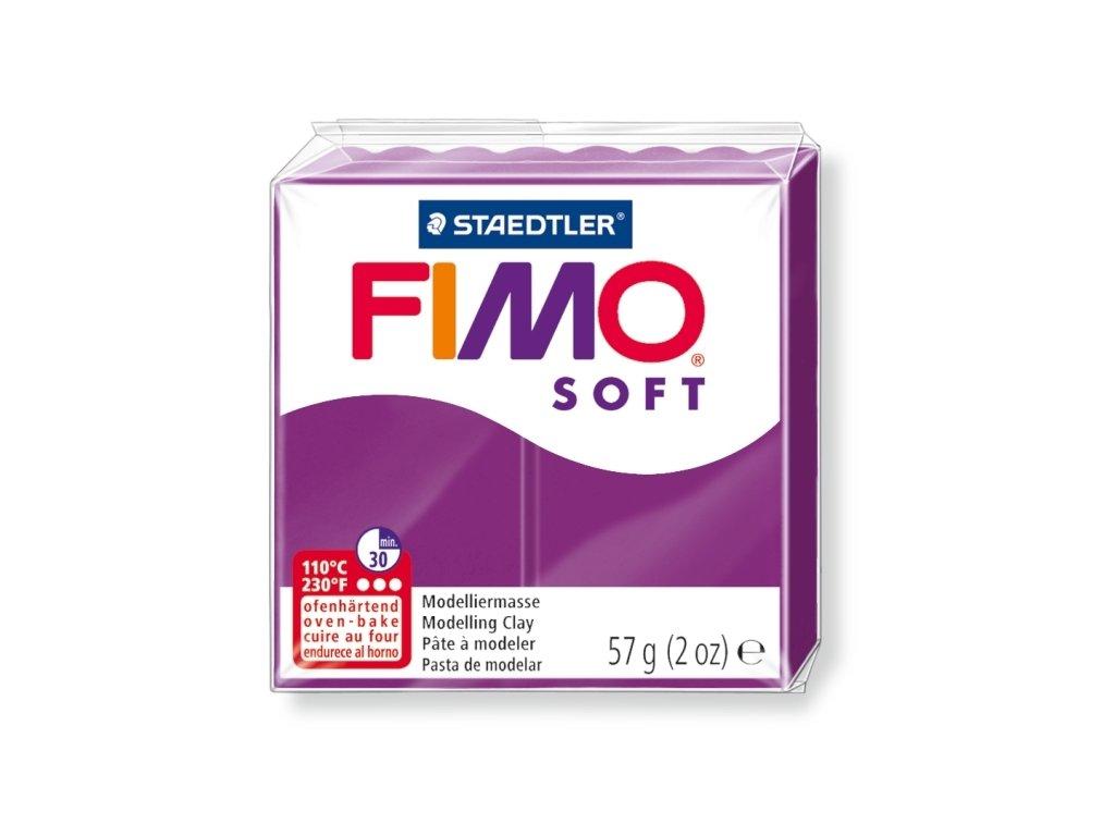 11465 fimo soft polymerova hmota 57g purpurova 61