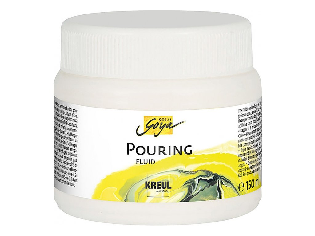 12170 pouring medium solo goya 150ml